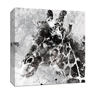 """PTM Images 9-146930  PTM Canvas Collection 12"""" x 12"""" - """"Giraffe"""" Giclee Safari Animals Art Print on Canvas"""