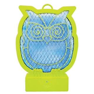 LED 2 In 1 Tabletop or Hanging Rechargeable Ninja Owl Bug Zapper