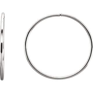 Sterling Silver 1.55mm Alluring Endless Hoop Earrings https://ak1.ostkcdn.com/images/products/is/images/direct/f065f73ac3bd7a39d675340a970d848ba5cba701/Sterling-Silver-1.55mm-Alluring-Endless-Hoop-Earrings.jpg?impolicy=medium