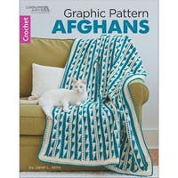 Leisure Arts-Graphic Pattern Afghans