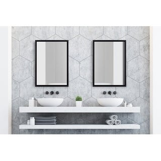 Link to Kate and Laurel Evans Framed Floating Wall Mirror Similar Items in Mirrors
