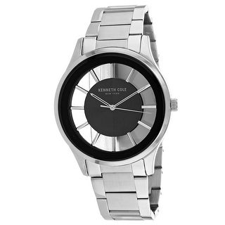 Kenneth Cole Men's Classic KC50500007 Silver Dial Watch