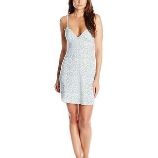 Calvin Klein Sleepwear Womens Nightgown V-Neck Animal Print