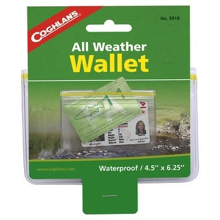 Coghlans 9918 coghlans 9918 weatherproof wallet