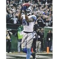 Calvin Johnson Autographed Detroit Lions 11 x 14 Photo