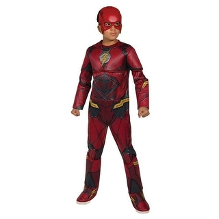 Justice League Movie The Flash Deluxe Costume Child