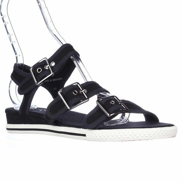 MARC Marc Jacobs M9000141 Buckle Strap Sandals, Black