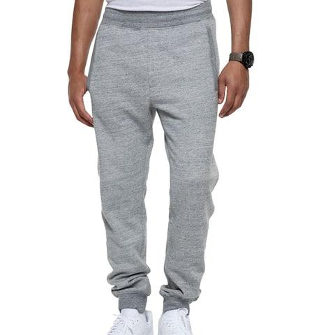 Sean John Mens Pants Gray Size 4XL Big&Tall Space-Dyed Sweatpants