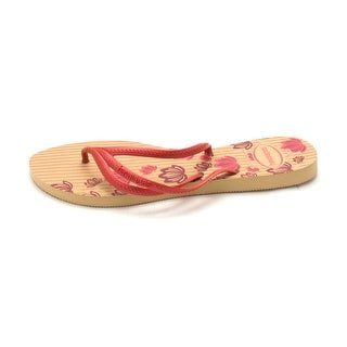 Havaianas Mens Havaianas Slip On Open Toe Flip Flops