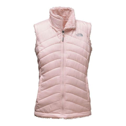 The North Face Women's Mossbud Swirl Reversible Vest Purdy Pink