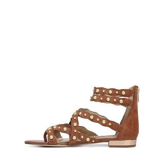 a5779347e453 Sam Edelman Womens Daya Suede Open Toe Casual Gladiator Sandals