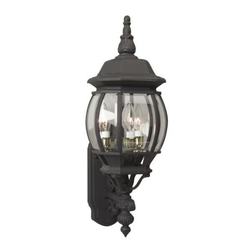 "French Style 24"" 3 Light Outdoor Wall Sconce"