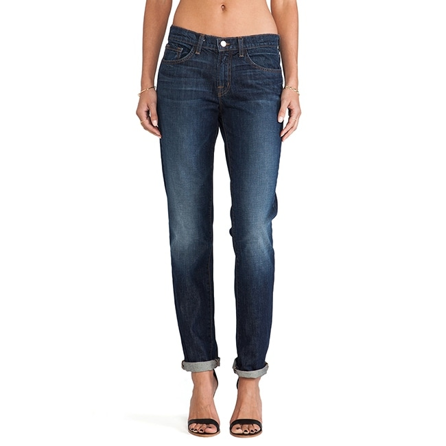 J Brand Womens Logan Hung Up Mid Rise Boyfriend Jeans by  New Design
