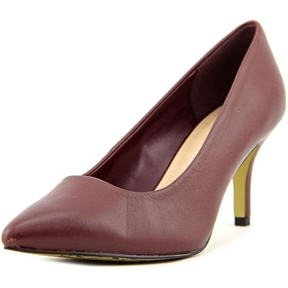 Bella Vita Define N/S Pointed Toe Leather Heels