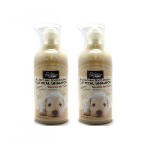 Alpha Dog Series Shampoo & Conditioner - Oatmeal Formula (Pack of 2)