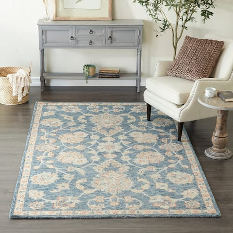 Wool Traditional Hand Hooked Rug