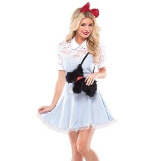 Coquette Womens Sweet Dottie Halloween Party Wizard Of Oz Costume - S/M