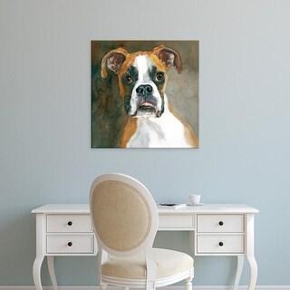 Easy Art Prints Edie Fagan's 'Bella Boxer' Premium Canvas Art