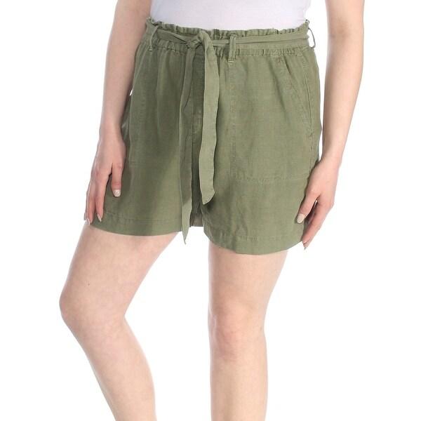 SANCTUARY Womens Green Tie Short Size: XL