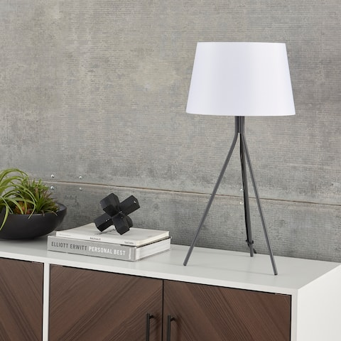 "Nourison 24"" Slender Tripod Table Lamp"