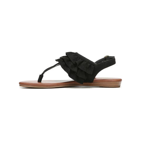 Fergalicious Womens Swoon Fabric Open Toe Casual Slingback Sandals