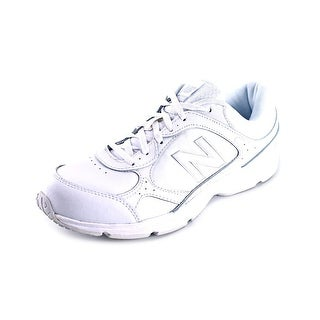 New Balance WW456 Women Round Toe Leather White Walking Shoe