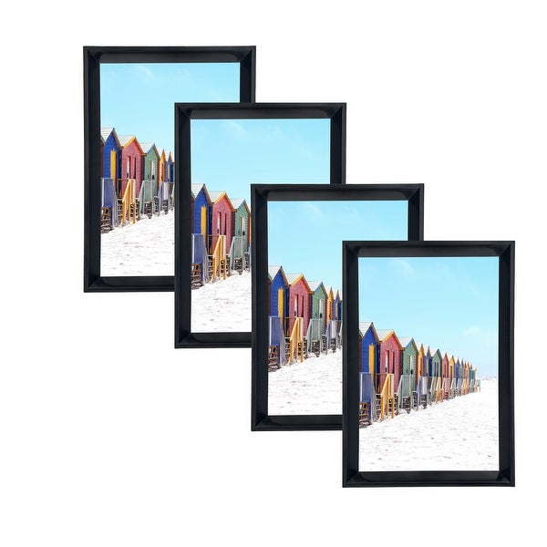 Shop Glossy PVC Picture Frames 4x6 with PVC Lens (Set of 4) LB1619 ...
