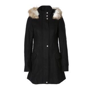 Braetan Women's Wool-Blend Hooded Jacket - S|https://ak1.ostkcdn.com/images/products/is/images/direct/f08234e8e6d8001362f62bdbae5be40f1448004b/Braetan-Women%27s-Wool-Blend-Hooded-Jacket.jpg?impolicy=medium