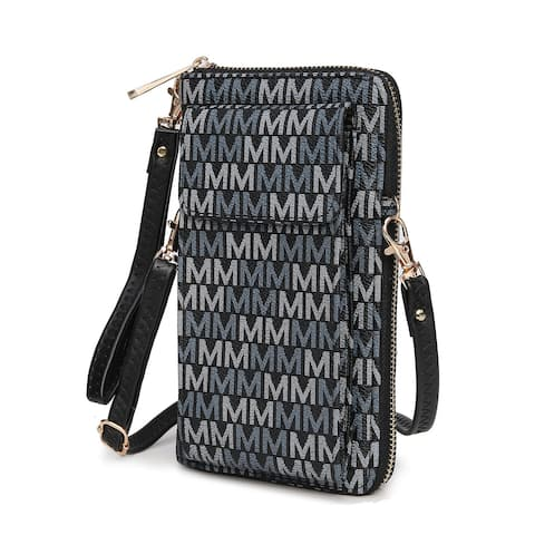 MKF Collection Romana 2 in 1 Wallet and Crossbody Bag by Mia K.