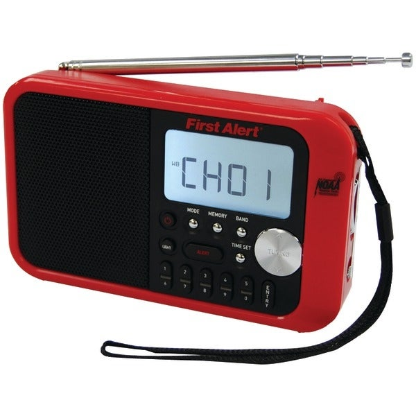First Alert Sfa1100 Digital Tuning Am/Fm Weather Band Radio