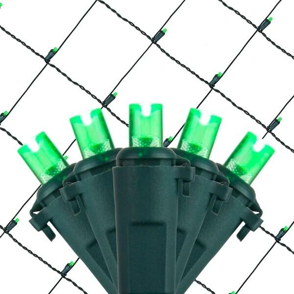 Wintergreen Lighting 72508 100 Bulb 4Ft x 6 Ft LED Decorative Holiday Net Light