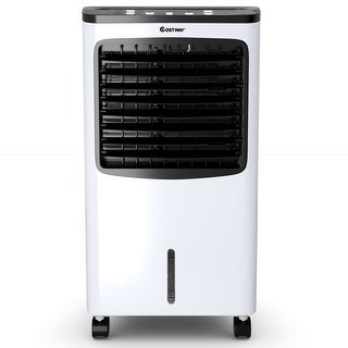 Costway Portable Air Conditioner Cooler Fan Filter Humidify Anion W/