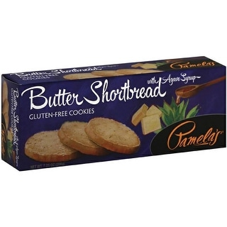 Pamela's Products - Butter Shortbread ( 6 - 7.25 oz boxes)