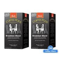 Melitta 75421 Breakfast Blend 18 Counts (2-Pack) Breakfast Blend Coffee Pods