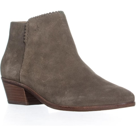 8a094b429 Jack Rogers Bailee Scalloped Ankle Boots, Olive - 7 US. Was. $79.99. $12.00  OFF. Sale $67.99