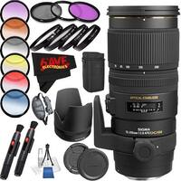 Sigma 70-200mm f/2.8 EX DG APO OS HSM International Version (No Warranty) Professional Accessory Combo