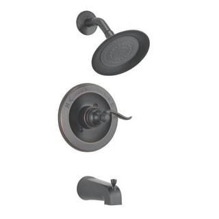 Delta Faucet 144996-OB Tub & Shower Faucet, Oil Rb Bronze