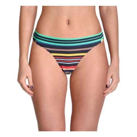 Stella McCartney Womens Striped Hipster Swim Bottom Separates