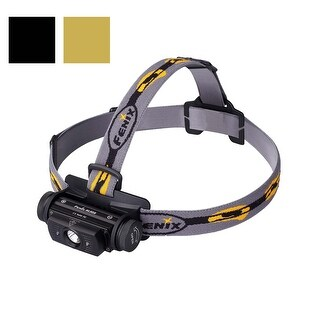 Fenix HL60R CREE XM-L2 T6 Neutral White USB Rechargeable Headlamp - 950 Lumens (Black)