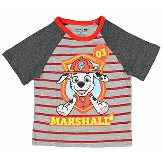 Paw Patrol Little Boys Marshall 03 Toddler Raglan T-Shirt