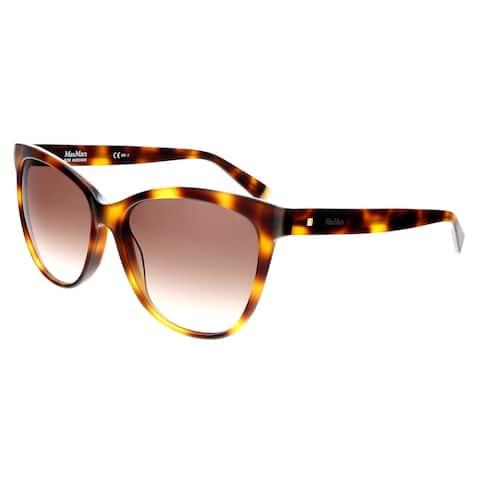 Max Mara MM THIN 005L Havana Cat Eye Sunglasses - 56-16-140