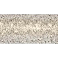Silver - Gutermann Dekor Metallic Thread 200M