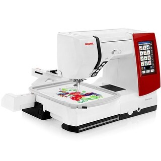 Janome Memory Craft 9900 Computerized Sewing and Embroidery Machine