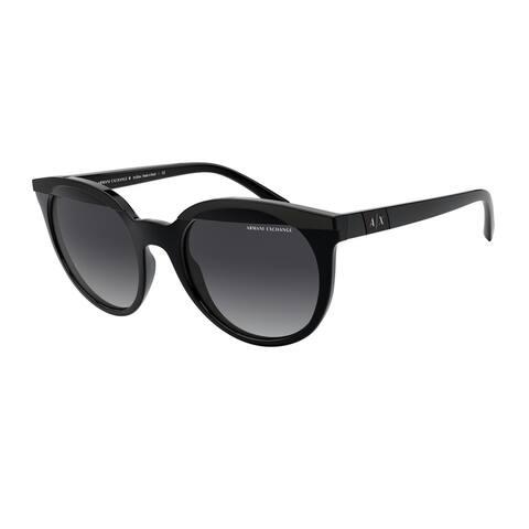 Armani Exchange AX4086S 81588G 53 Black Woman Irregular Sunglasses