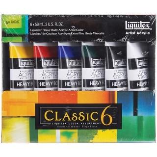 Liquitex Heavy Body Acrylic Paint 59Ml 6/Pkg-Classic 6