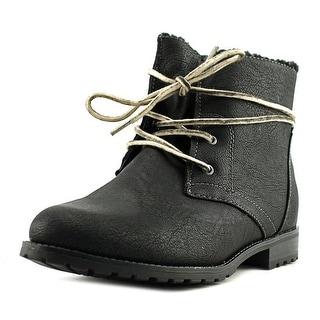 Sporto Jillian   Round Toe Leather  Ankle Boot