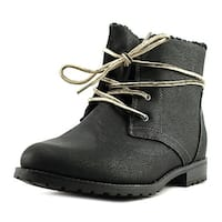 Sporto Jillian   Round Toe Leather  Ankle Boot