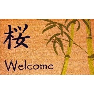 Home & More 12044 Asian Welcome Doormat