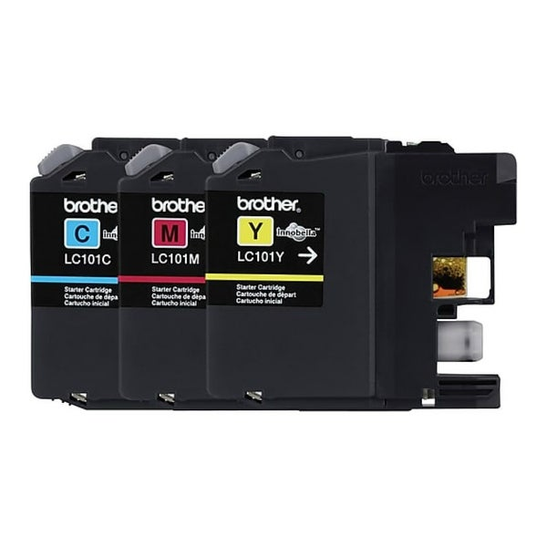 Brother LC1013PKS Brother Innobella LC1013PKS Ink Cartridge - Cyan, Magenta, Yellow - Inkjet - 300 Page