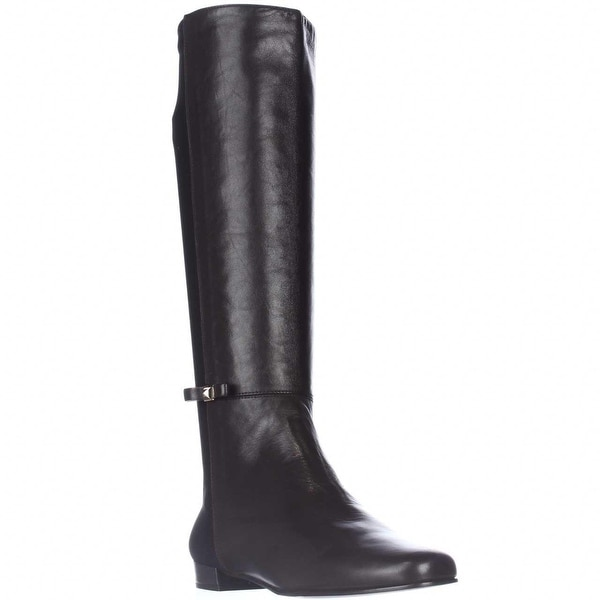 Kate Spade Olivia Back Stretch Riding Boots, Chocolate - 7.5 us